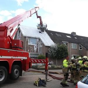 Brand in huis aan Mariannestraat