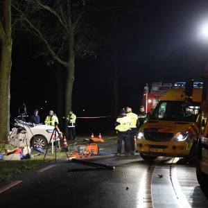 Twee doden bij eenzijdig verkeersongeval op Structuurweg in Schijndel