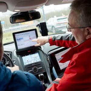 Test met 'rij-assistent'  die eind moet maken aan wachten voor rood verkeerslicht