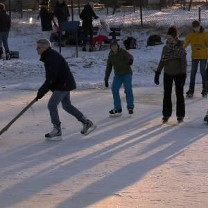 Eindelijk weer schaatsen op natuurijs