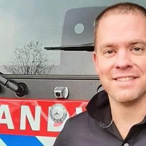 Thijs Ilbrink nieuwe commandant Brandweer Schijndel