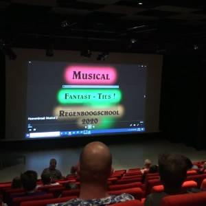 Basisschool De Regenboog sluit schooljaar af met gefilmde musical