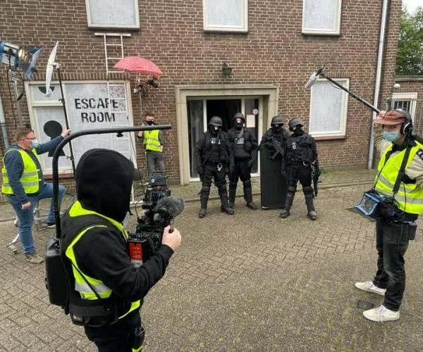 Filmopnames veroorzaken onrust in Schijndel