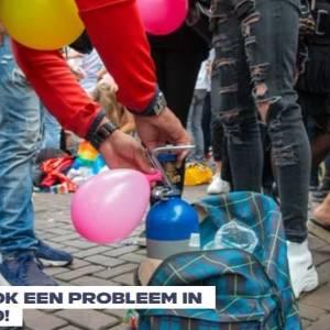 Gebruik lachgas in Meierijstad verdubbeld in vijf jaar
