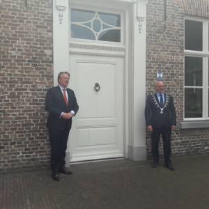 Commissaris van de Koning op werkbezoek in Meierijstad
