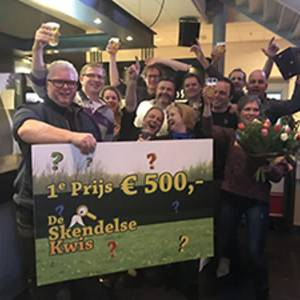 't Skendels kwartierke wint Skendelse Kwis 2018
