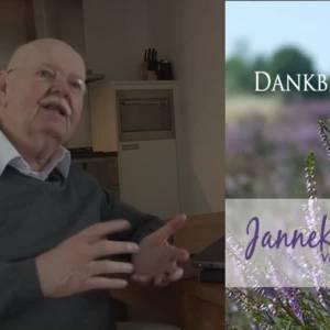 Hans Kuyper uit Olland bepleit gesproken rouwkaart
