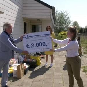 Voedselbank blij met financiële steun