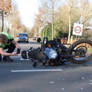Ongeval motorrijder Boxtelseweg (N618) in Schijndel