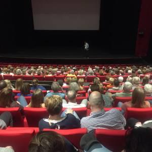 Vrijwilligers komen massaal op filmfestival af