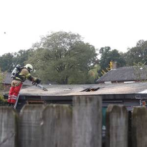 Schuurbrand in Rooi