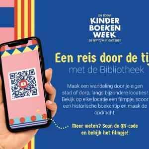 Kinderen kunnen tijdreizen in de kinderboekenweek