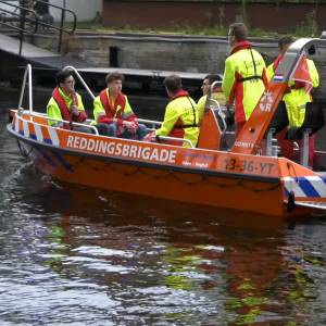 Tweede team Reddingsbrigade Veghel en Uden helpt in Limburg