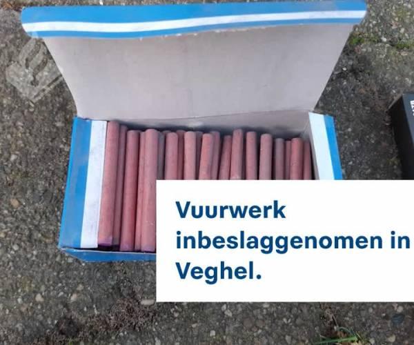Jacht op illegaal vuurwerk leidt tot vondst in Veghel